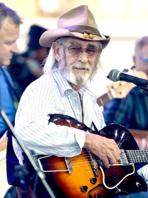 Don Williams is seen during a 2013 performance in Indio, Calif.