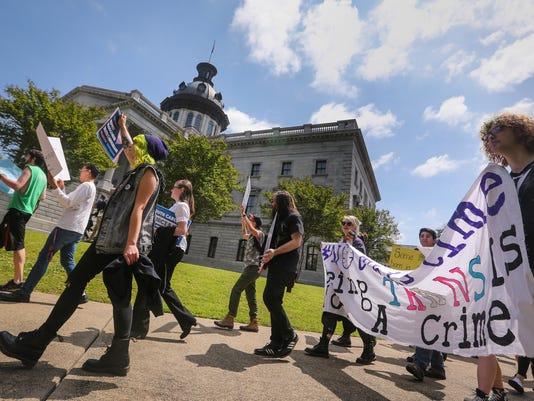 Transgender bathrooms bill South Carolina