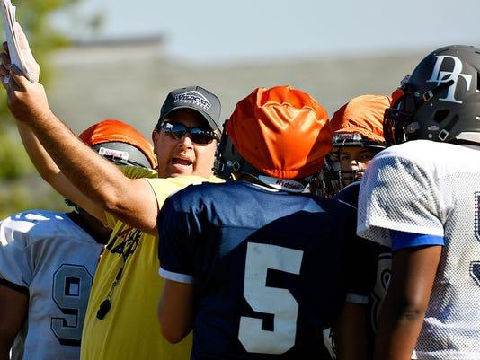 Dallastown High School football practice 09/23/2015