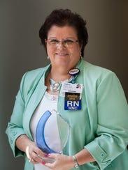 Inspira Health Network recognized Mary Ann Copeland,
