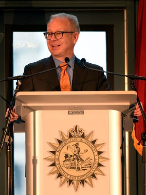 """Nashville Mayor David Briley is taking some heat after saying in a Rotary Club speech that there is """"no crisis"""" regarding thecity's affordable housing shortage and Metro's tight fiscal situation."""