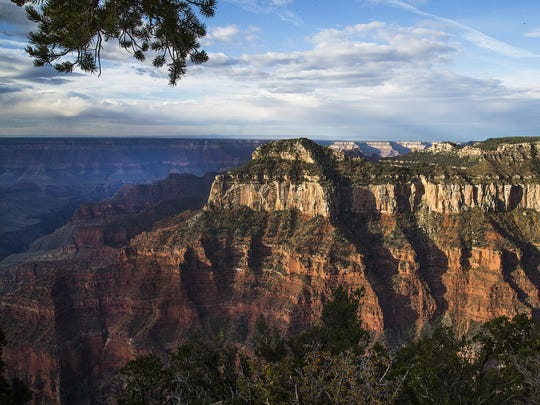 Most of the facilities on the North Rim of the Grand Canyon shut down for winter on Oct. 15.
