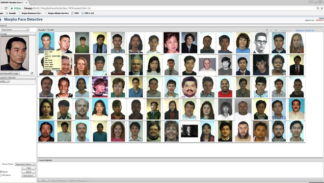 Since 2016, Arizona's Department of Public Safety has used facial-recognition software to track suspects. This includes a repository of all Arizona driver's licenses.