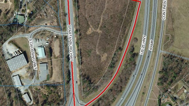 An asphalt drum plant has been proposed at the Spartanburg Highway and U.S. 25 interchange near East Flat Rock.