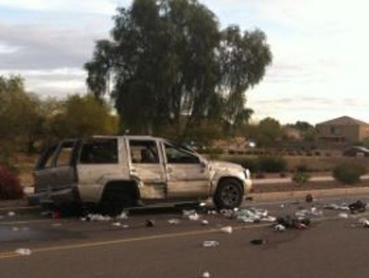 Pregnant woman ejected from vehicle