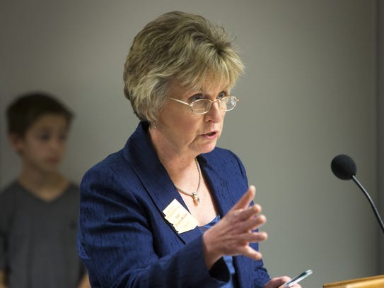 State Sen. Kate Brophy McGee, of Phoenix, opposes the