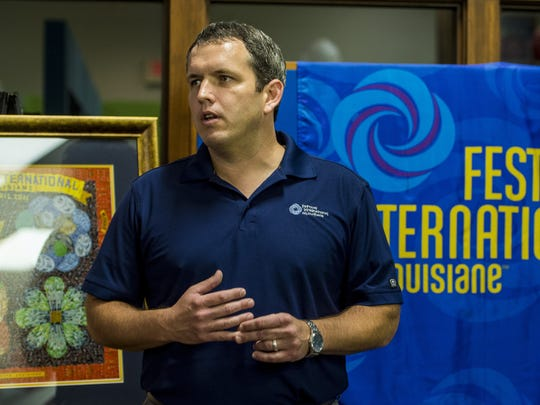 Scott Feehan, former president of the board of directors at Festival International de Louisiana, was hired last year as the event's executive director.