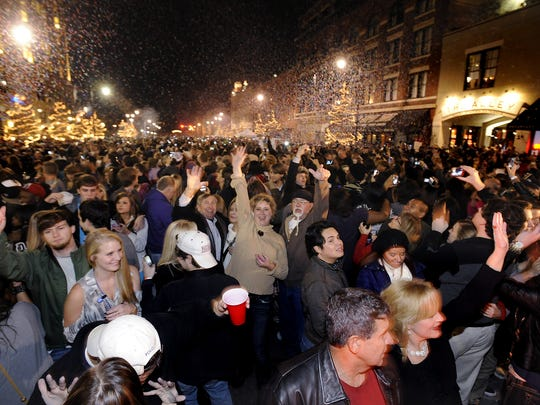 Last year's New Year's Eve celebration drew nearly 10,000 people to the streets of downtown Montgomery.