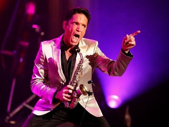 Saxophonist Dave Koz performs during his Dave Koz and