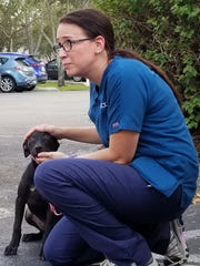 Tina Terry of  Lee County Domestic Animal Services