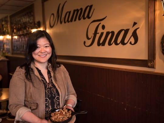 Mama Fina's in Elmwood Park specializes in Sisig -