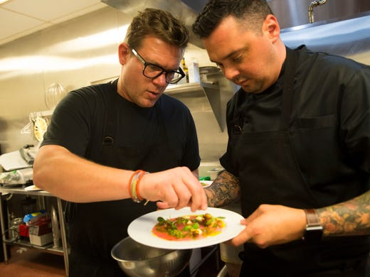 Celebrity Chef Tyler Florence Debuts New Wine At Coopers Hawk In Naples