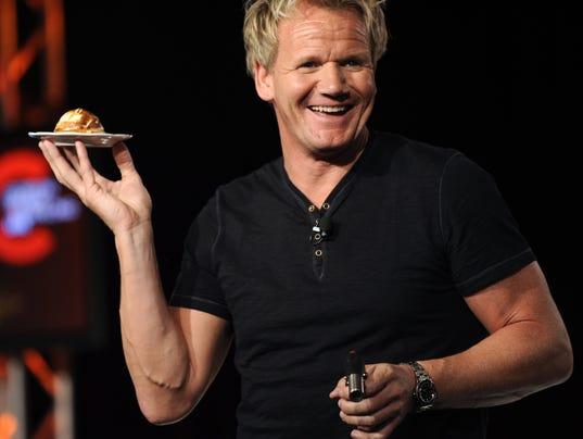 Chef gordon ramsay talks caesars 39 new chef - Gordon ramsay shows ...