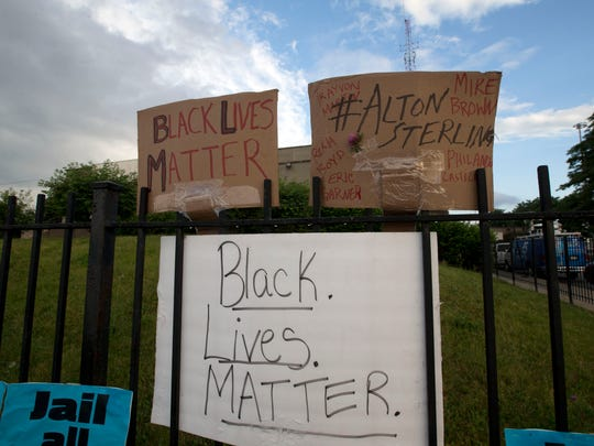 FILE - A Black Lives Matter protest has been scheduled for Monday evening in downtown Palm Springs, according to a Facebook event set up by Black Lives Matter in the Desert.
