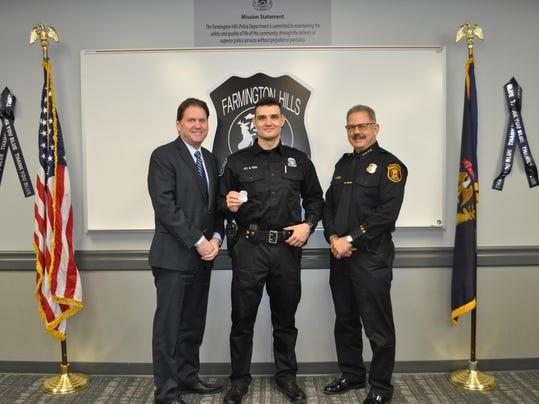 Officer Mario Vekic