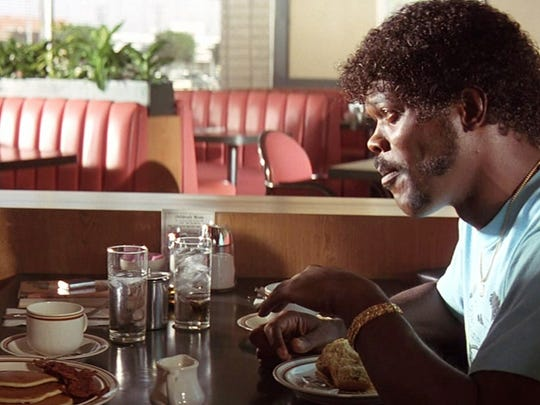 Samuel L. Jackson is a philosophical hitman in 'Pulp