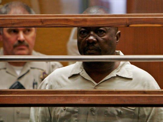Lonnie David Franklin, Jr., 57, attends his arraignment