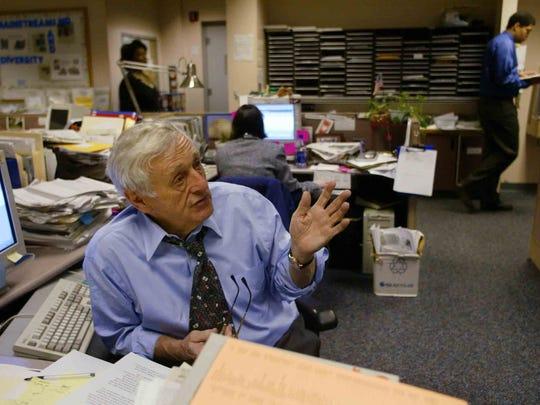 As Tennessean editor, John Seigenthaler led coverage