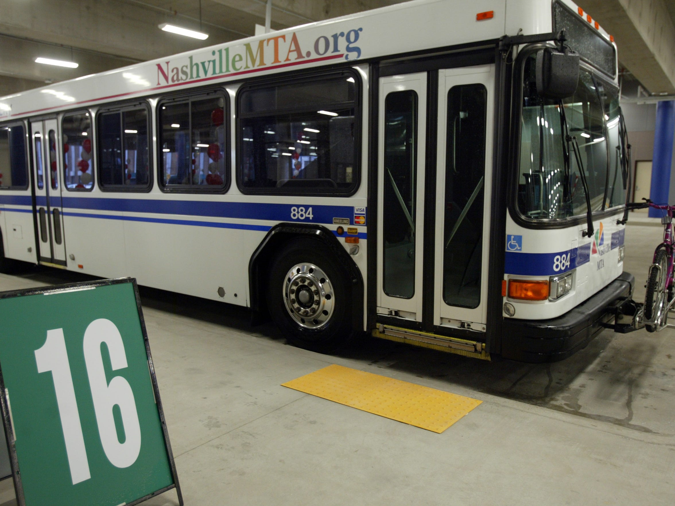 File / The TennesseanMTA will operate on Christmas and New Year's Day. An MTA bus parks at the Music City Central bus depot. The transit authority last week approved one its largest additions to bus services. File / The Tennessean Nashville hopes to attract more bus riders on Friday.