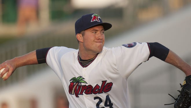 Alex Wimmers, seen here with the Fort Myers Miracle.