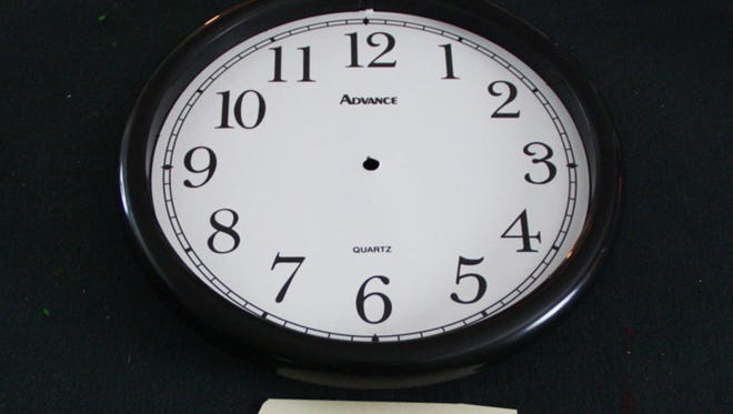 What time is it again?
