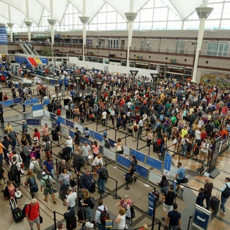 Denver airport's massive transformation: new gates, smoother security