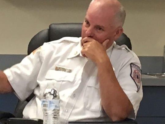 Former North Lyon Fire Chief Scott Huntley.