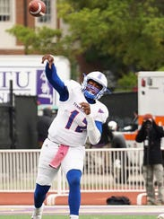 Michael Hughes took over as the starting quarterback in the sixth week of the season.