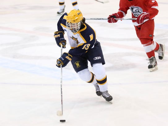 MI H.S.: Flying By - Easton Uses Speed To Win Hockey Player Of The Year
