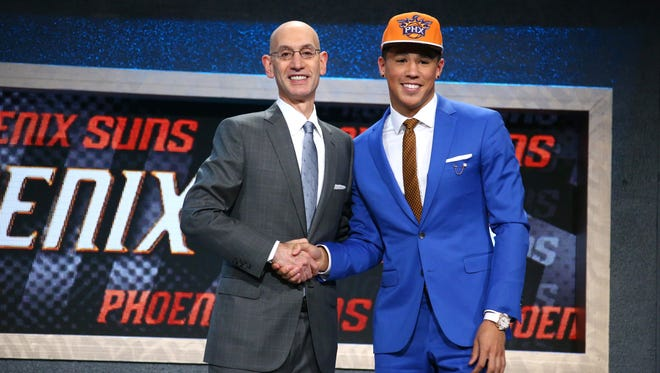 The Suns selected Devin Booker, who was recently named to the 2015-16 NBA All-Rookie First Team, with the 13th pick in the 2015 NBA Draft. Phoenix owns four total selections in this year's draft, including the fourth and 13th overall picks.