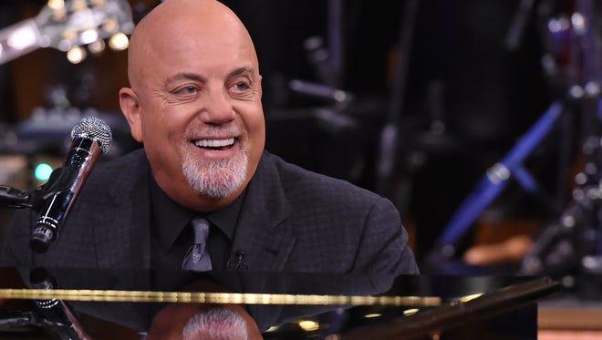 Billy Joel will be in concert June 17 at Lambeau Field.