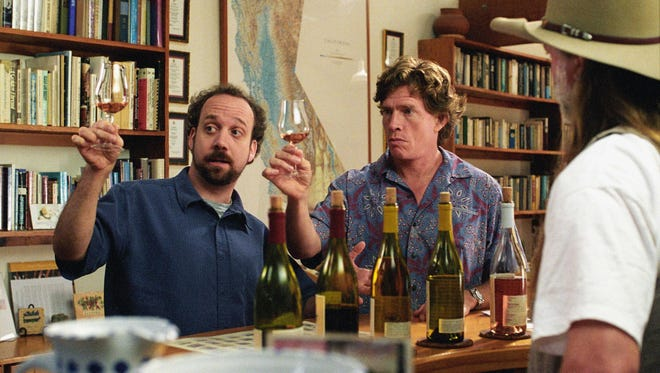 "Paul Giamatti and Thomas Haden Church sample a few choice vintages in the 2004 film ""Sideways,"" which catapulted pinot noir into the spotlight."