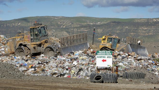 The Simi Valley Landfill and Recycling Center is one of two landfills where Oxnard's trash ends up.