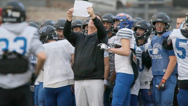 Tim Kirksey led the Westlake High football program for four years.