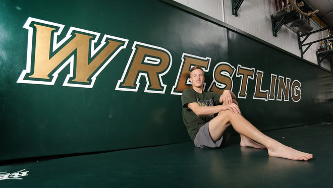 Royal High's Jacob Hansen was the only area wrestler to win a CIF individual title this season. The junior won the 145-pound crown in the CIF Coastal Division.