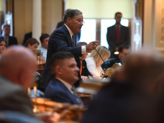New Jersey lawmakers were back at the State House in