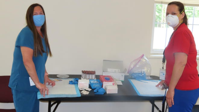 Staff of Middletown Medical were at the Port Jervis Municipal Building on May 26 to conduct COVID-19 antibody testing, hosted by the City of Port Jervis.