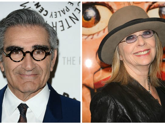 Eugene Levy and Diane Keaton.