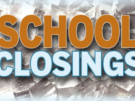 See which schools are closing due to the weather