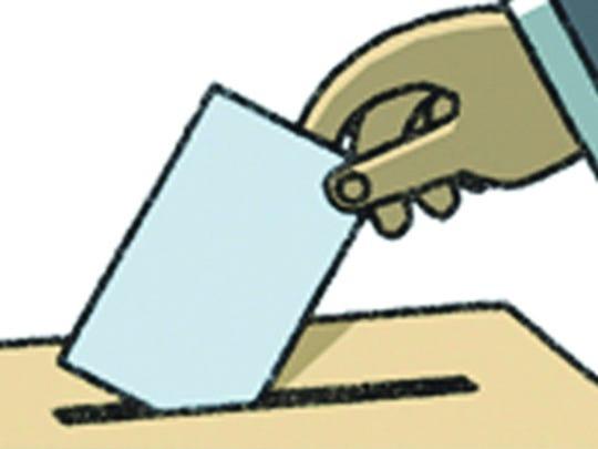 voter hand
