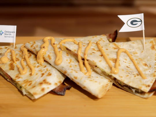 The bacon-dilla is among the rookie class of foods at Lambeau Field this year.