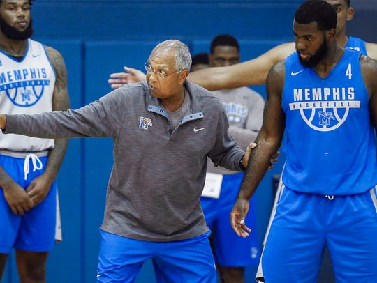 University of Memphis head basketball coach Tubby Smith