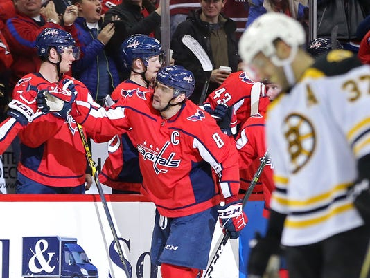 NHL: Boston Bruins at Washington Capitals
