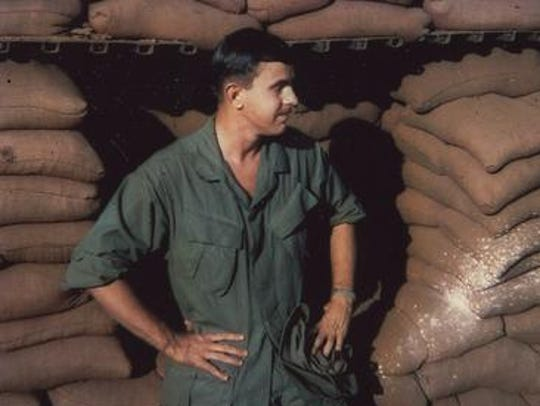 Norman Wolfinger was named Oustanding Disabled Vietnam