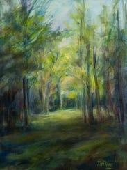 Walk though Onanda Park by Pat Rini Rohrer.