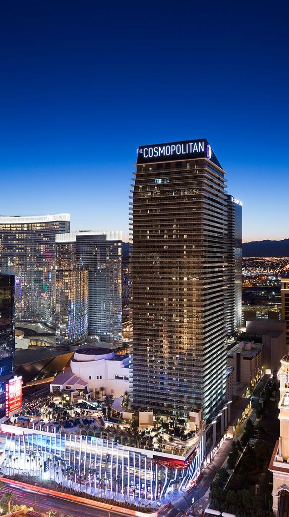 The Cosmopolitan in Las Vegas has a get one night free