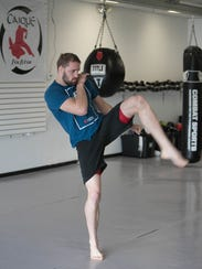 Former MSU wrestler Bobby Nash now a UFC competitor