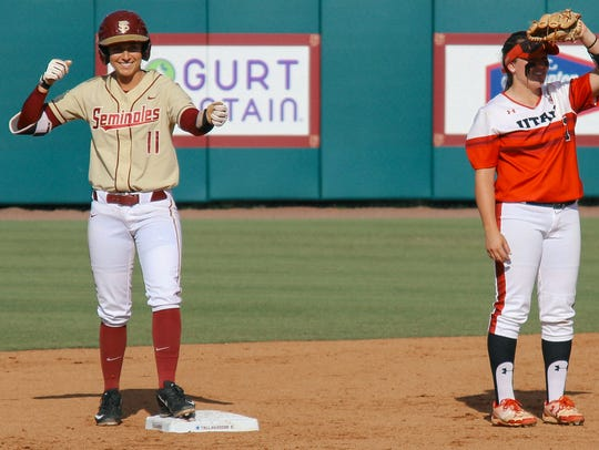 With the Florida State softball team aiming for its