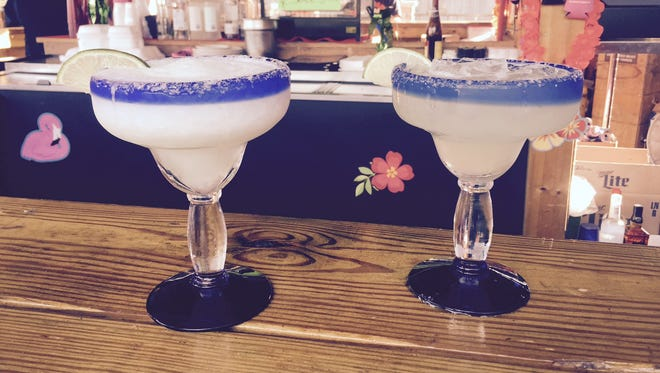 Margaritas are served up at Charley's Bar & Grill in Holt.