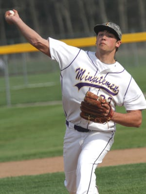 Lexington's Ben Vore pitches a home game against Ashland on Wednesday.
